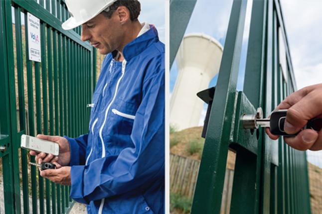 Veolia choisit les solutions de contrôle d'accès Locken